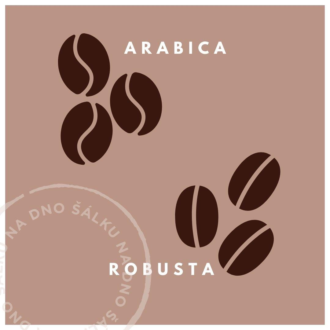 Arabica nebo robusta