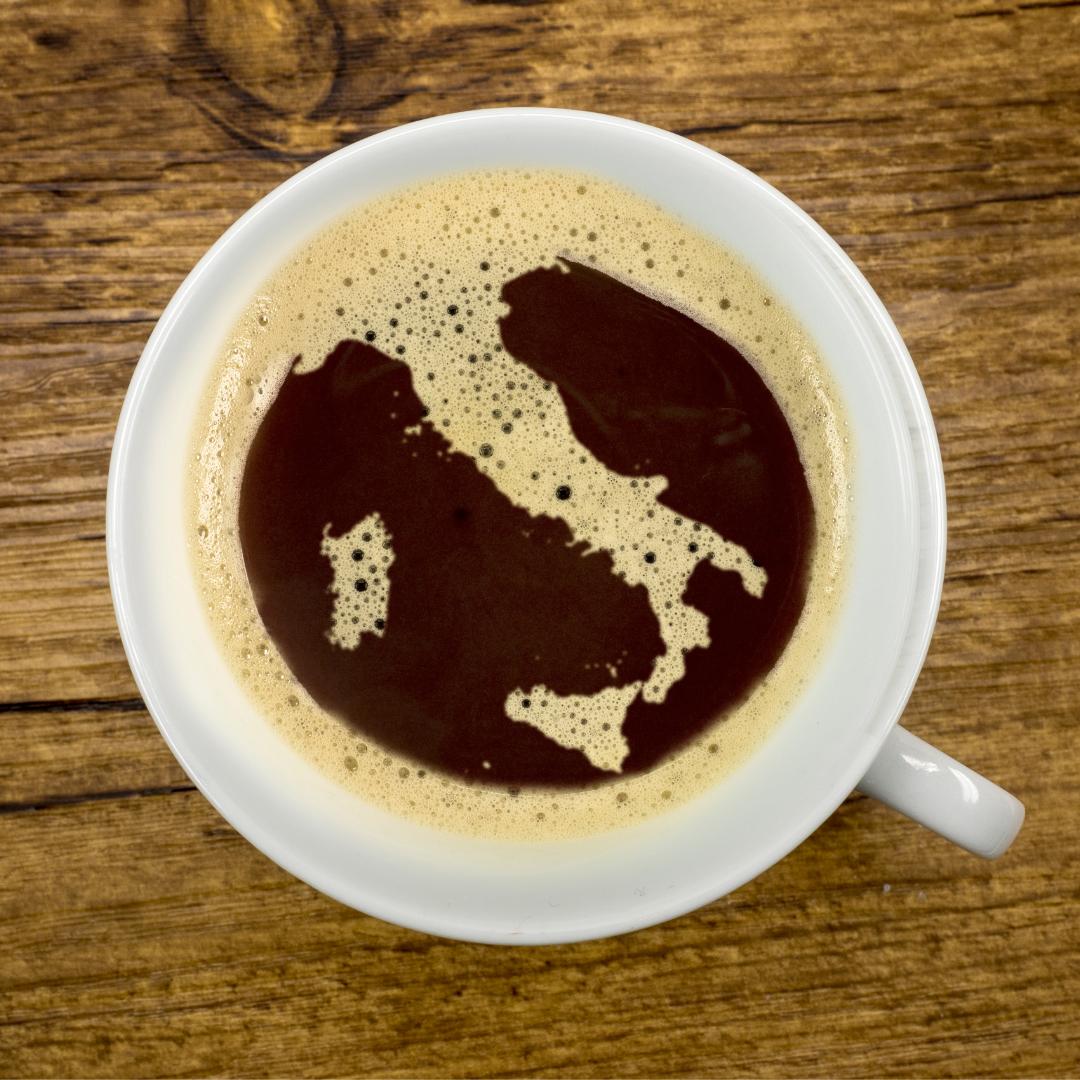 Kde se pěstuje italská káva?