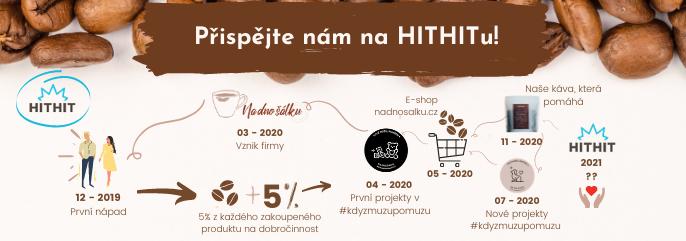 Káva, která pomáhá na hithit.cz