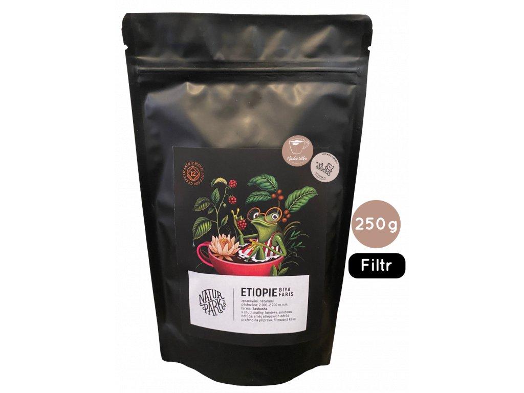 NaturPark12 Etiopie, zrnková káva