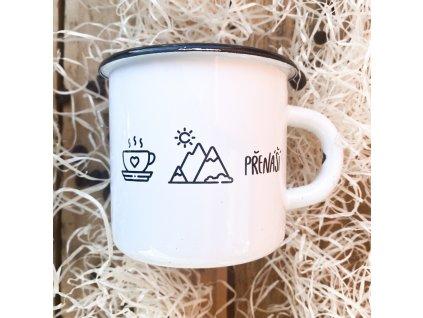 Plecháček Káva hory přenáší