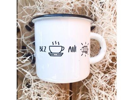 Plecháček Bez kafe ani ránu