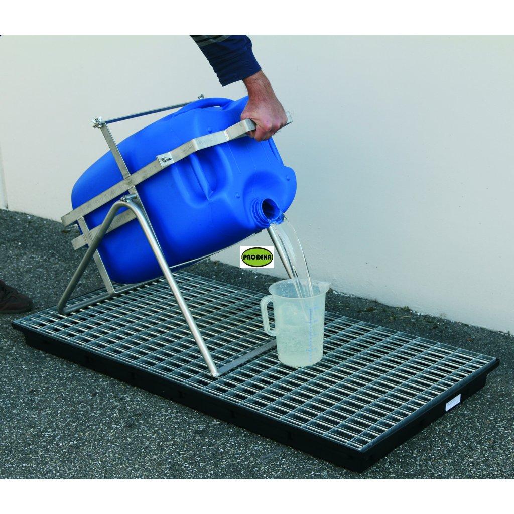 Podstavec pro plnění kanystrů do 60 litrů
