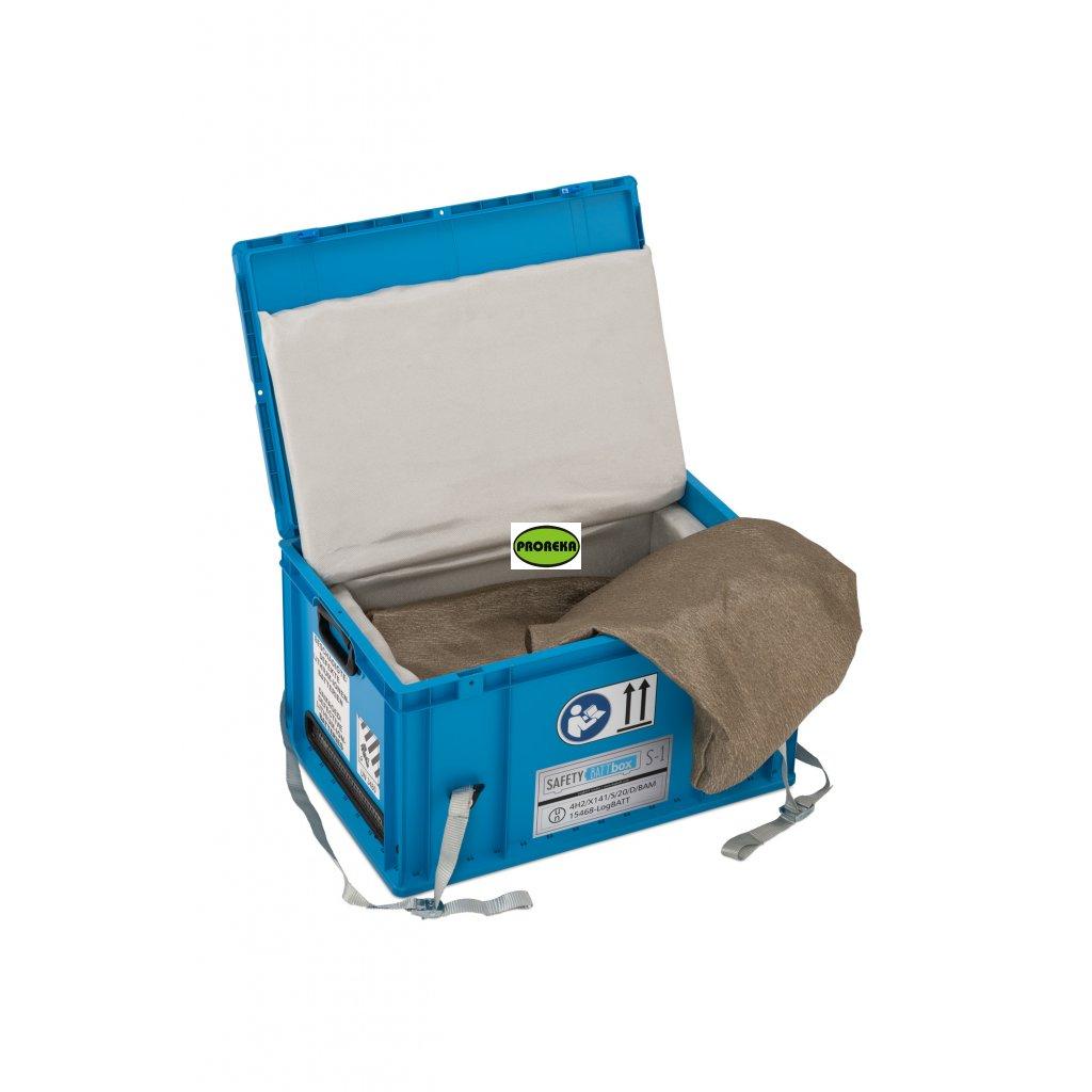 Bezpečnostní box na AKU baterie (transport box)