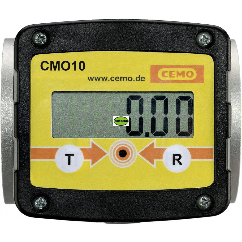 Evidenční zařízení CMO 10 pro až 250 uživatelů k nádrži na naftu