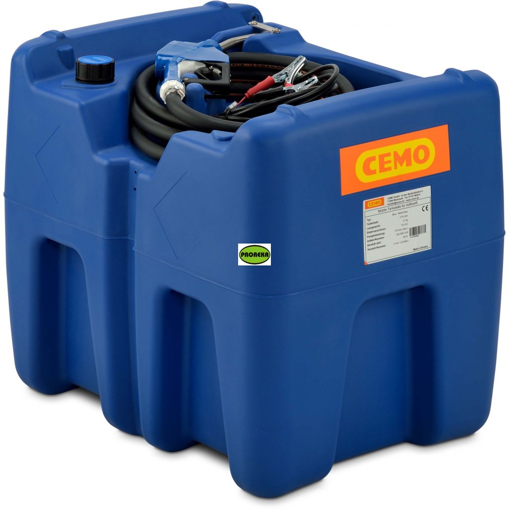 210  litrů nádrž na AdBlue®️ s čerpadlem na 12V
