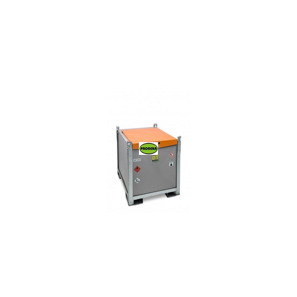 980/200 Dvouplášťová mobilní nádrž na naftu + AdBlue DT-Mobil PRO ST s čerpadlem 12V