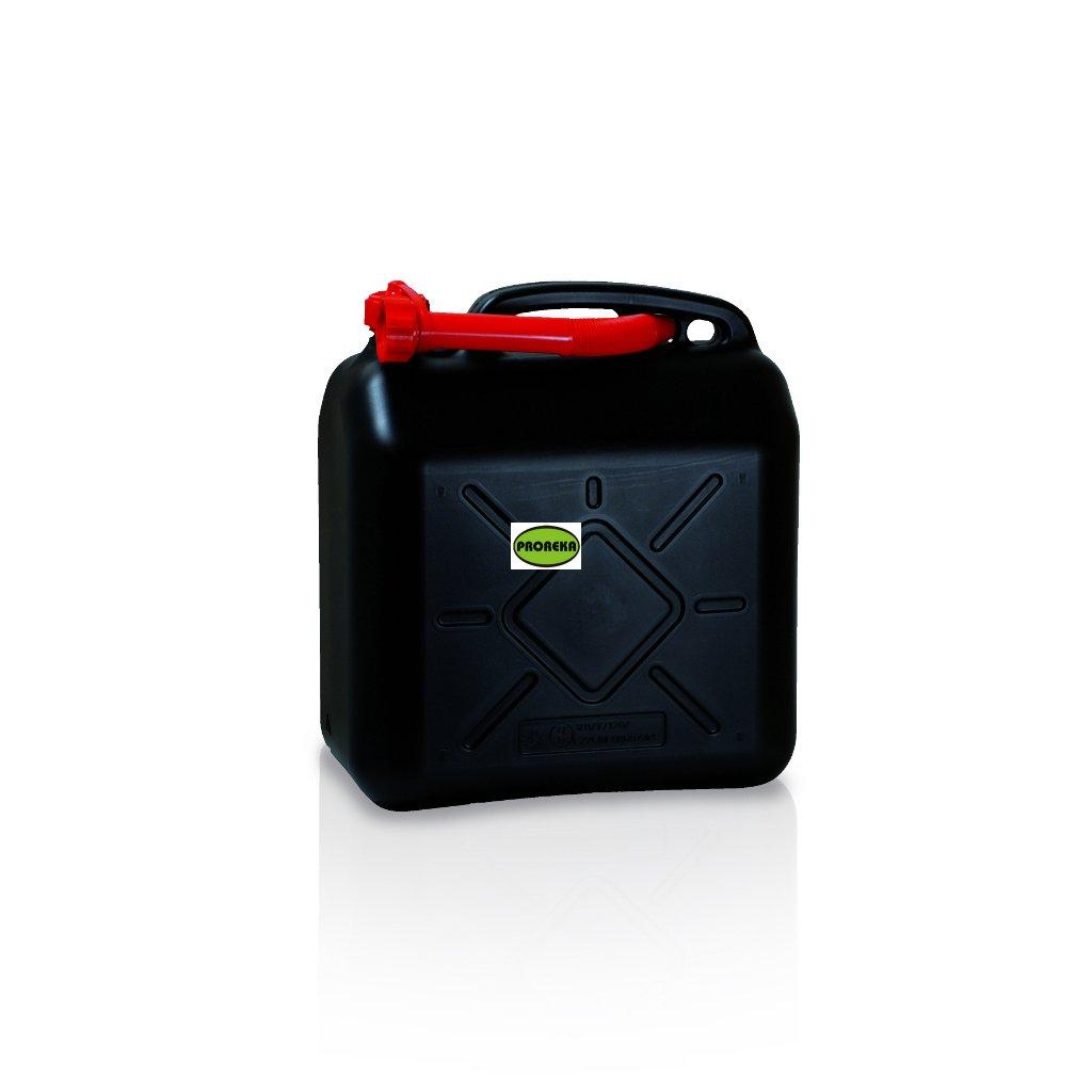 Kanystr na benzín 20 l UN (paleta 72 ks)