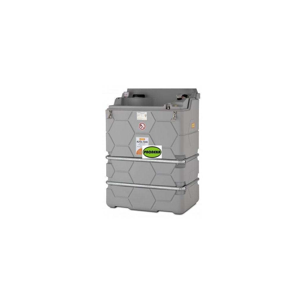 Nádrž na použité oleje, bez víka, 1500 litrů (vnitřní)