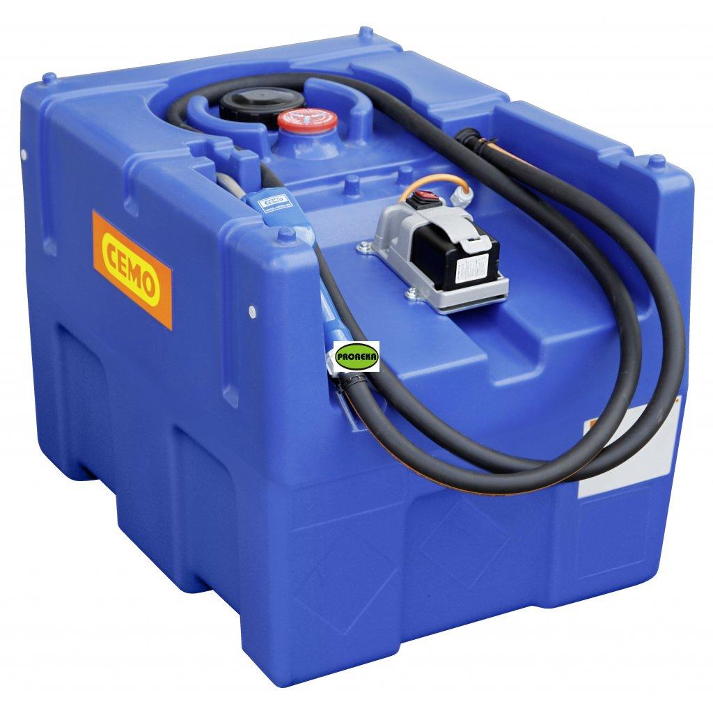 CEMO nádrž na AdBlue ®️ 200 litrů s čerpadlem  BLUE-MOBIL EASY s AKU