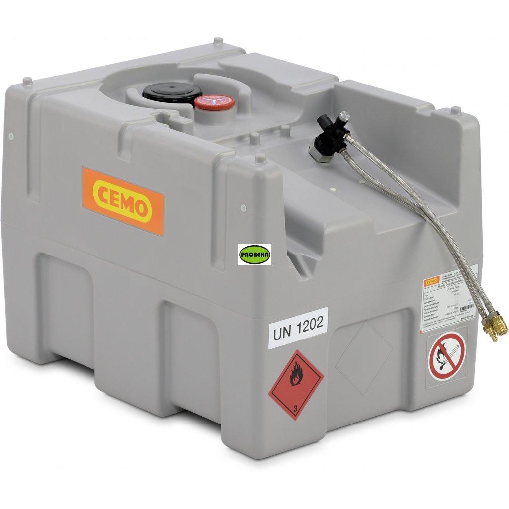 200 litrů nádrž ke generátoru s ADR