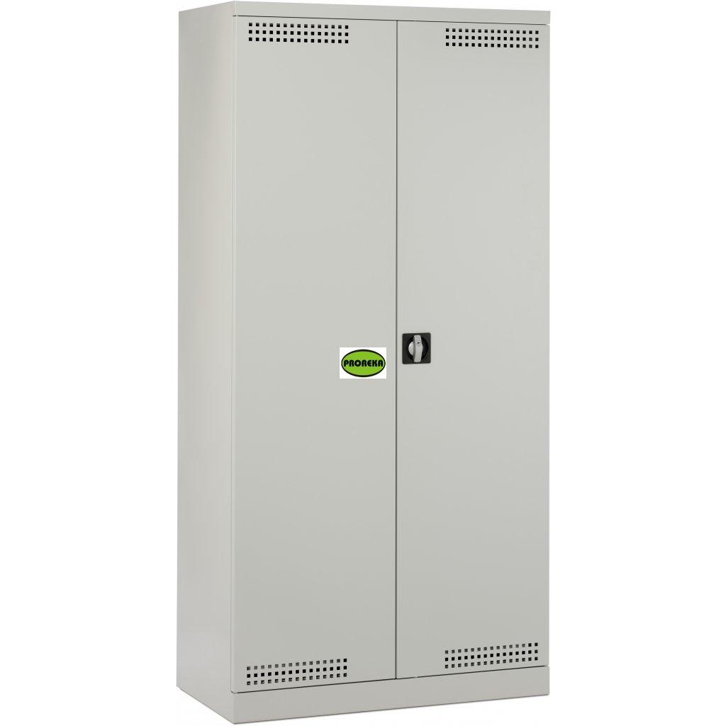 Bezpečnostní prostor (skříň) na nehořlavé chemikálie (výsuvné police)