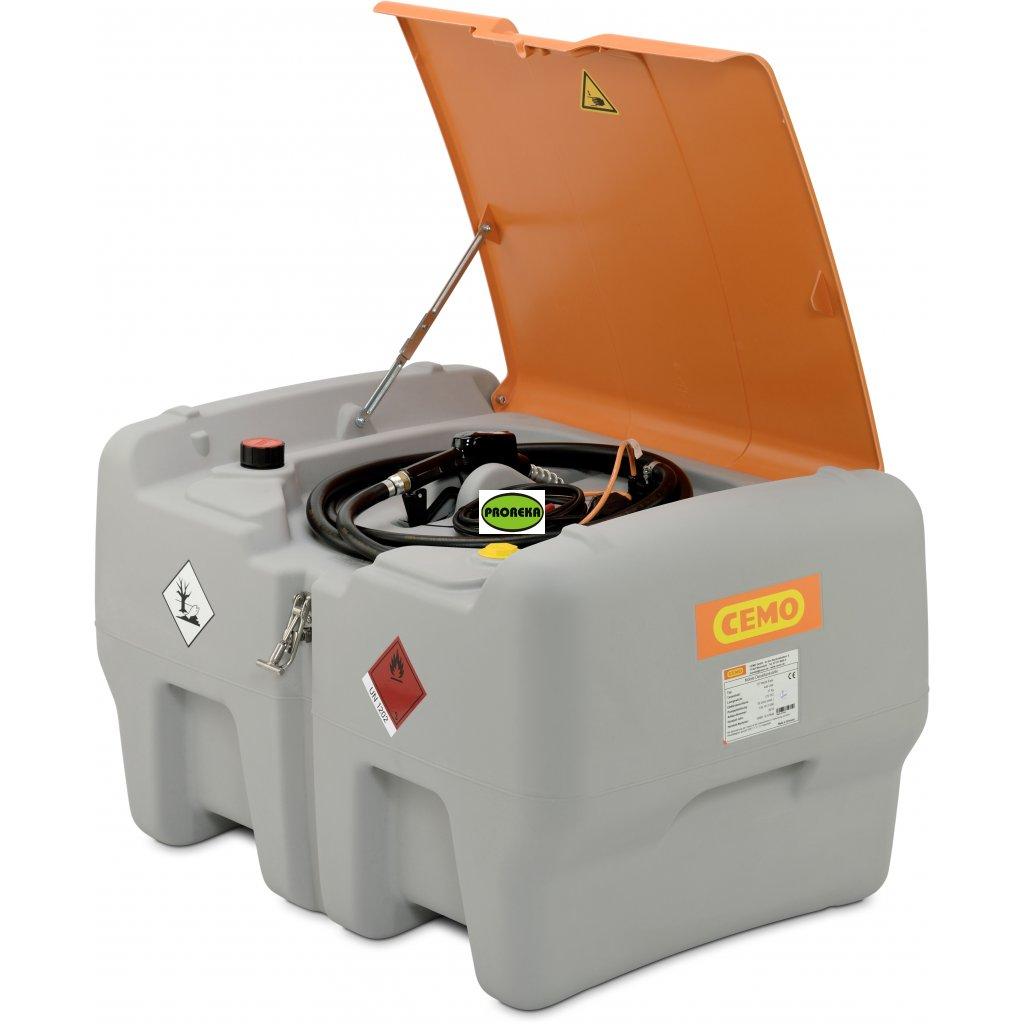 CEMO nádrž na naftu 440 litrů DT Mobile Easy 12V + poklop  Skladem ihned k dodání