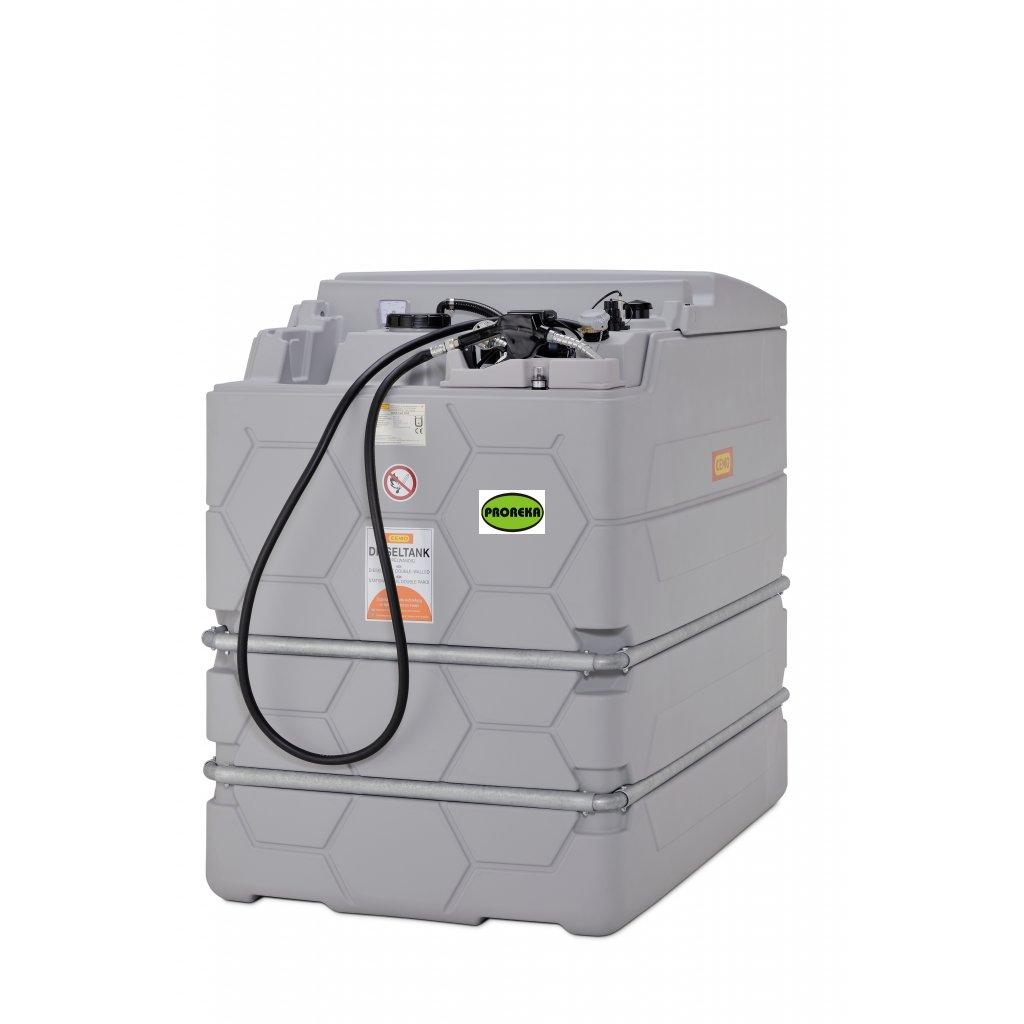 CEMO nádrž na naftu 2500 litrů dvouplášťová  BASIC INDOOR (vnitřní)