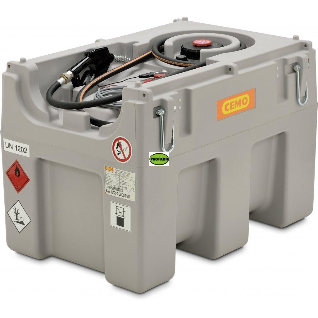 460 litrů mobilní nádrž EASY se schválením ADR s čerpadlem 12V