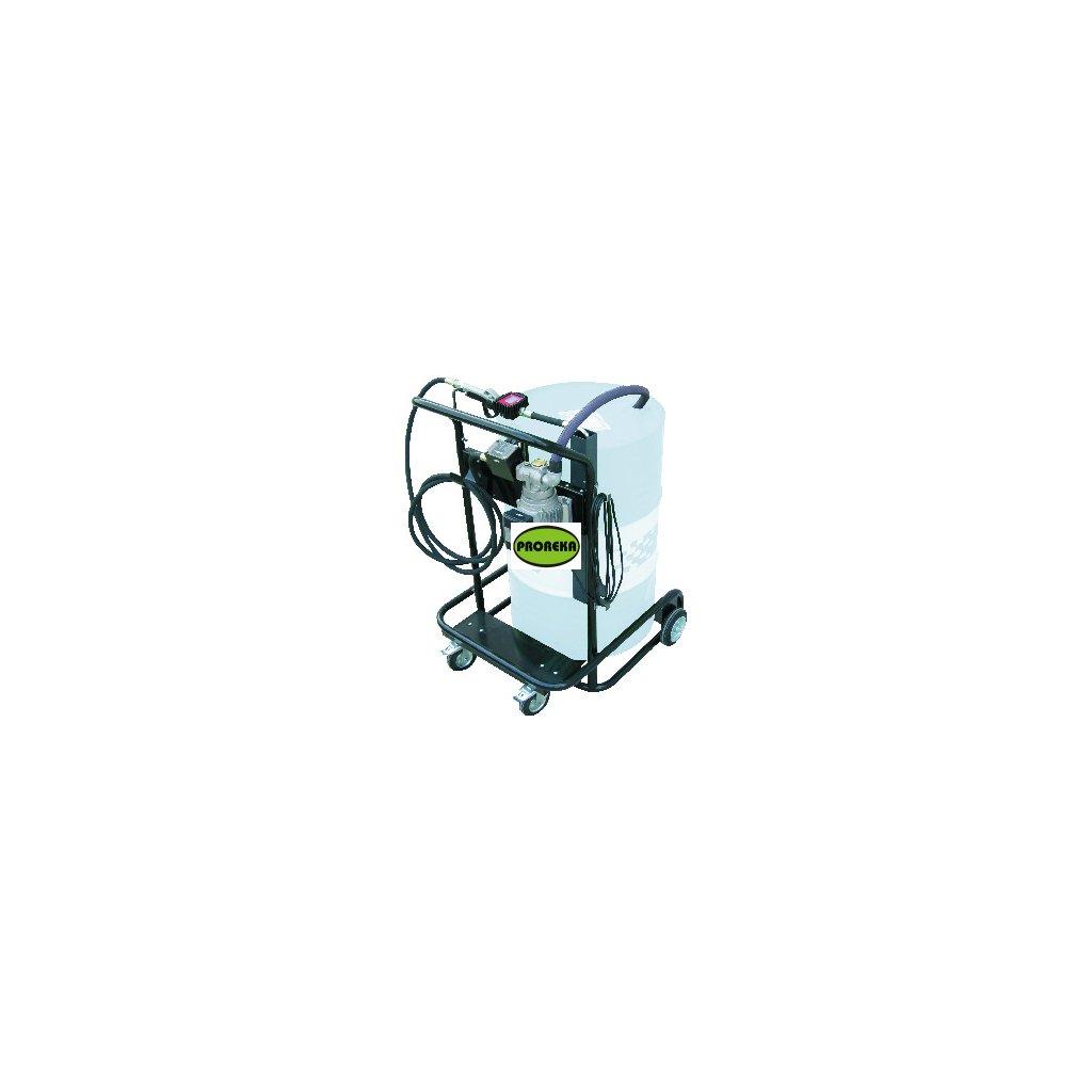 Mobilní kompaktní systém na maziva Viscotroll