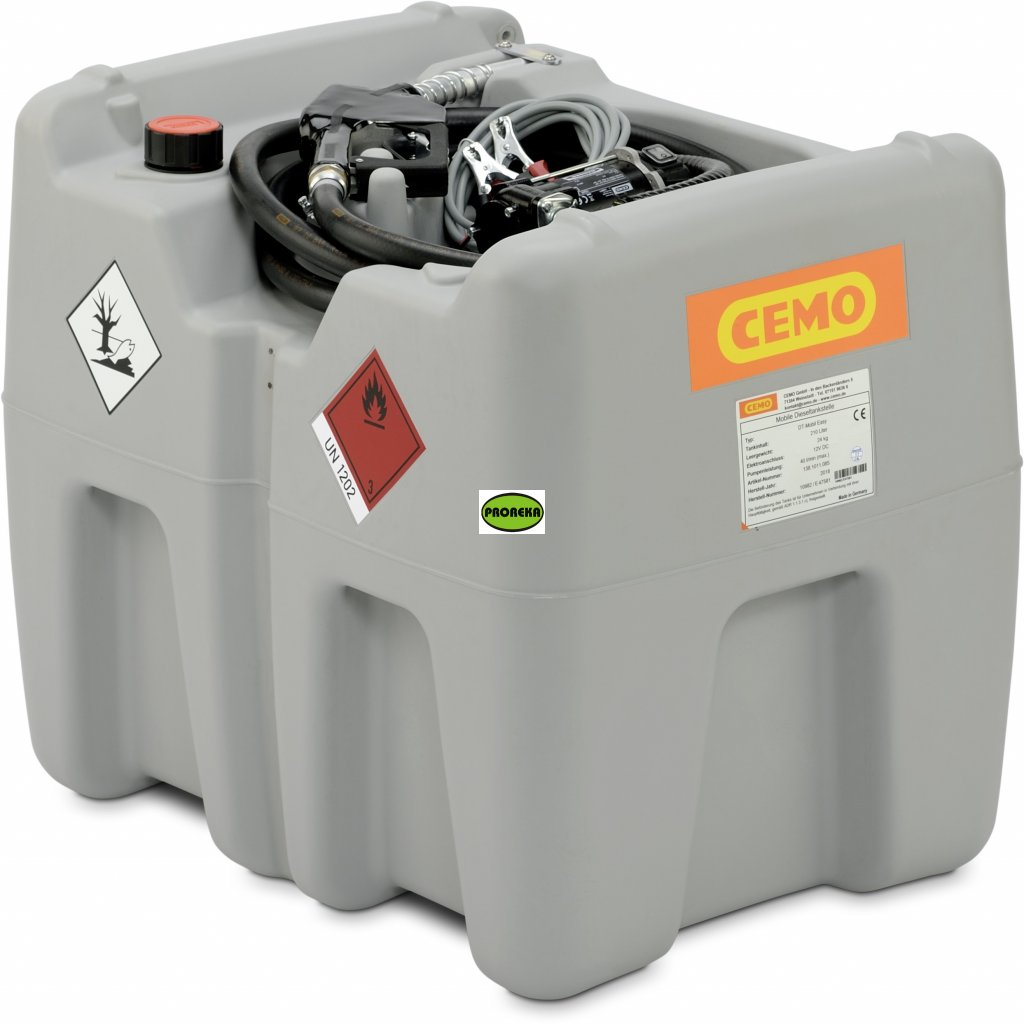 CEMO nádrž na naftu  210 litrů 12V, 40 l/min (ADR)