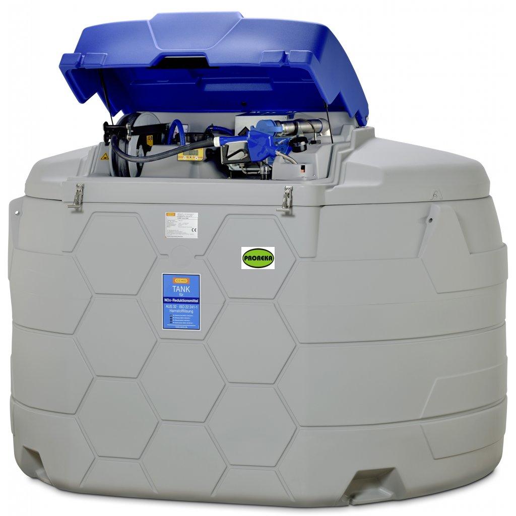 5000 litrů nádrž na AdBlue ®️ CUBE (venkovní/vnitřní)