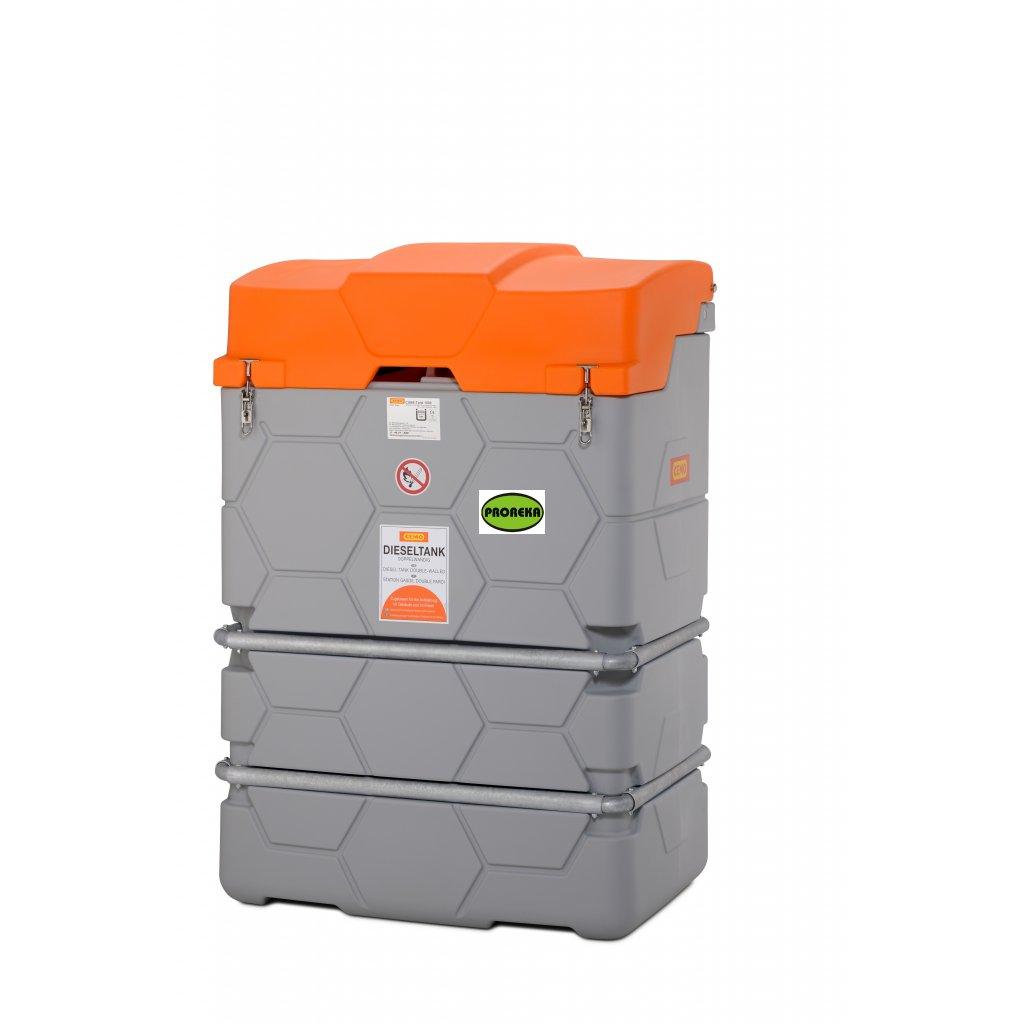 CEMO nádrž na naftu 1000 llitrů - CUBE  BASIC  venkovní