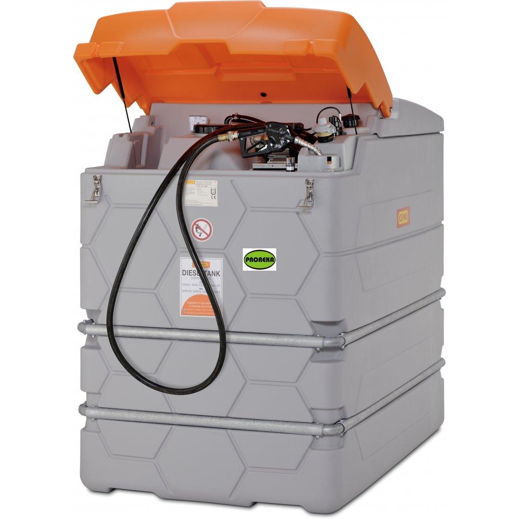 CUBE - 2500 litrů venkovní nádrž na naftu