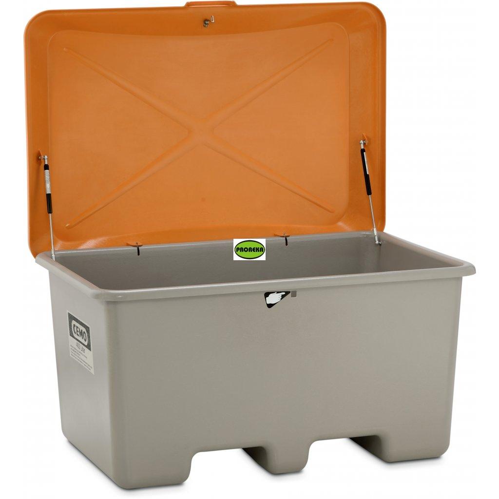 UNI  laminátový BOX 400 litrů s poklopem