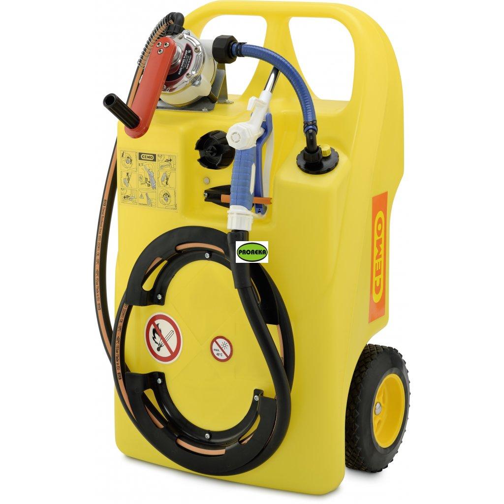 60 l vozík pro kapaliny do odstřikovačů / chladičů (letní/zimní)