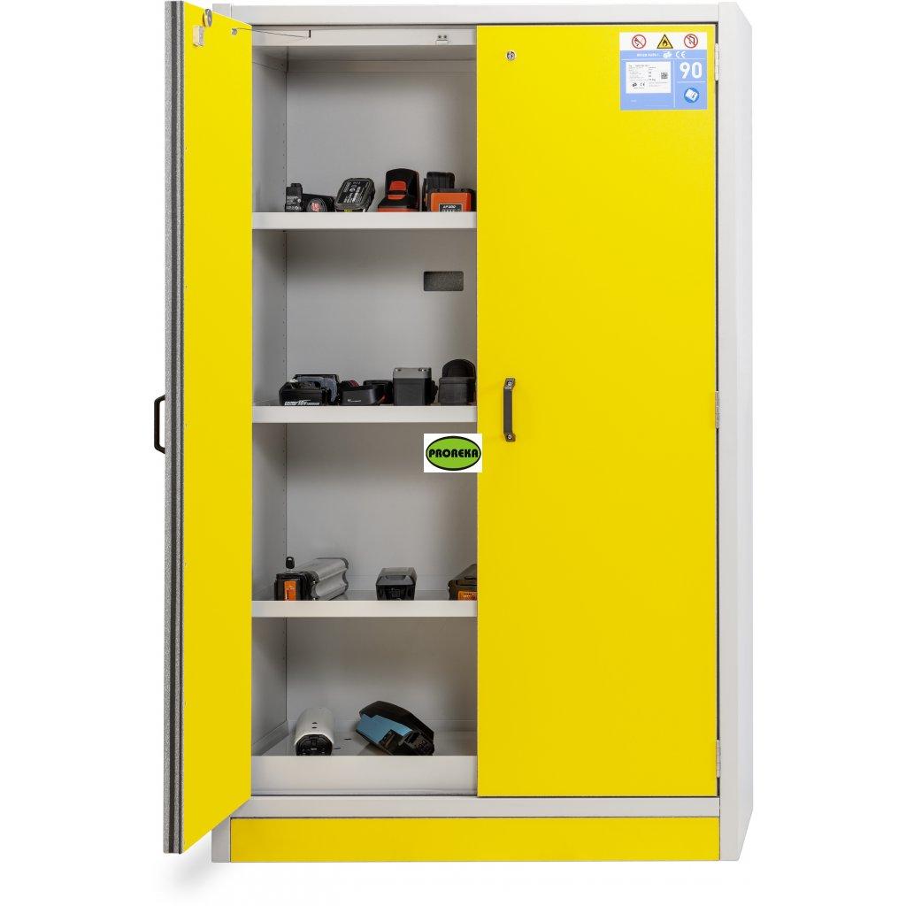 AKKU bezpečnostní protipožární skříň 12/20 / FWF90