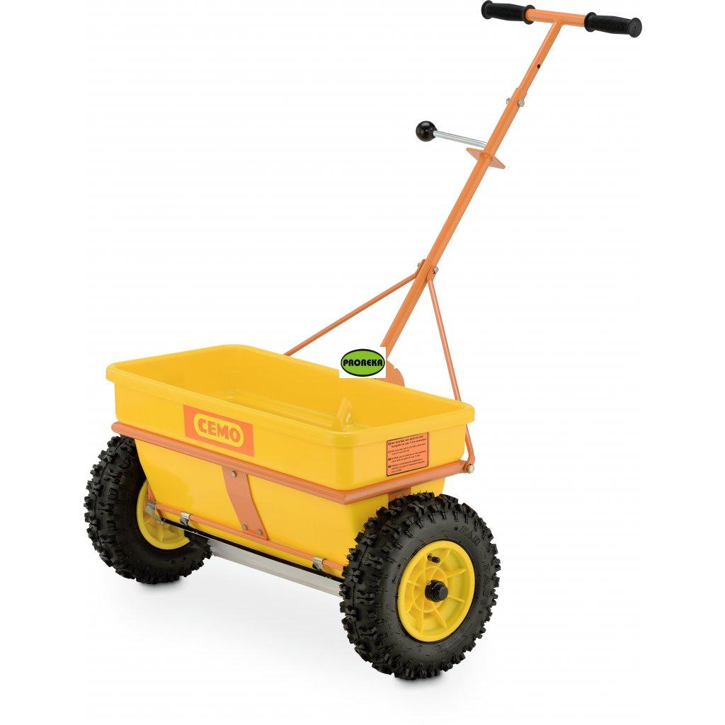 Posypový vozík s přesnou šířkou posypu KS 35 E