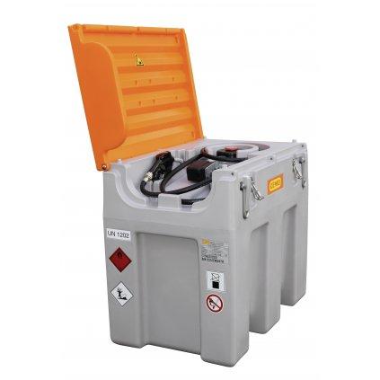 DT-Mobil Easy 600 litrů certifikace ADR s elektrickým čerpadlem 24V / AKU systém a průtokem  40 litrů/min. + poklop