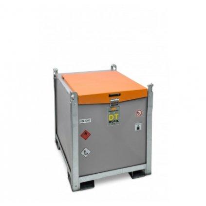 CEMO nádrž na naftu 980/200 Dvouplášťová mobilní nádrž na naftu + AdBlue DT-Mobil PRO ST s čerpadlem 12V