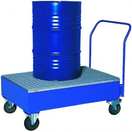 Ocelová záchytná vana (nostnost 450 kg)