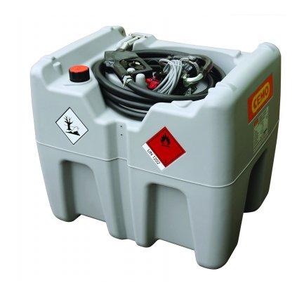 210 litrů DT-Mobil Easy - mobilní nádrž, elektrické čerpadlo na 12V, 40 l/min (ADR) bez víka