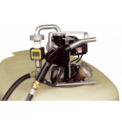DWT kompletní nádrž na naftu 1300 litrů s výdejem 50 litrů/min.