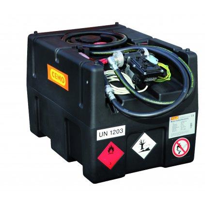 KS-Mobil EASY nádrž na benzin 190 litrů + čerpadlo 12 V, bez víka