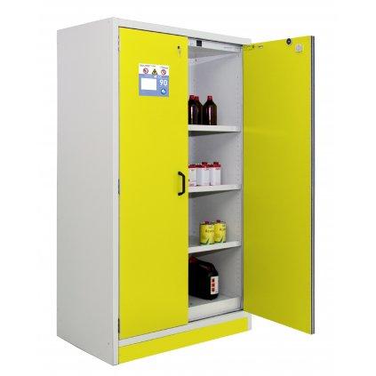 Bezpečnostní prostor (skříň) na chemikálie 12/20 - FWF 30, 3 police/podlaha