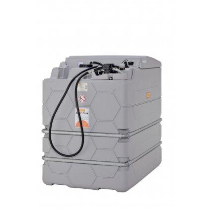 2500 litrů - CUBE - dvouplášťová nádrž na naftu o objemu 2500 litrů BASIC INDOOR (vnitřní)