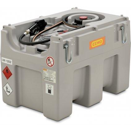 CEMO nádrž na naftu  460 litrů mobilní nádrž s čerpadlem 12V