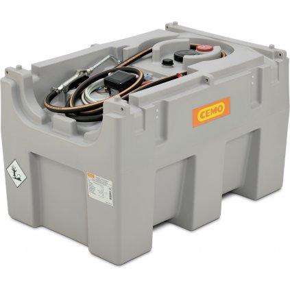 Nádrž na maziva 430 litrů s elektrickým čerpadlem 12V