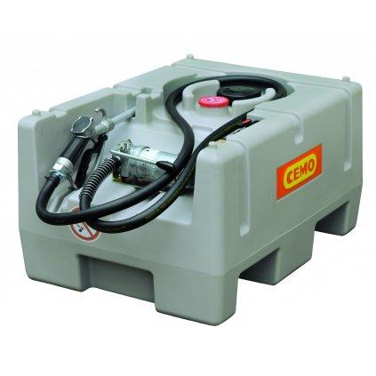 125 litrů mobilní nádrž na naftu s ruční pumpou / ADR