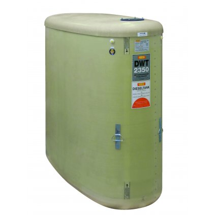2350 litrů DWT nádrž bez příslušenství