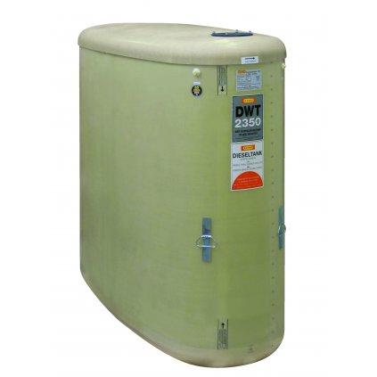 CEMO nádrž na naftu 2350 litrů DWT bez příslušenství