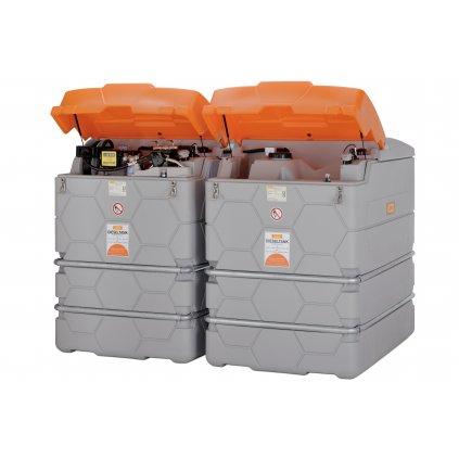 5000 litrů - CUBE- systém stacionární nádrže 5000 litrů Outdoor Premium