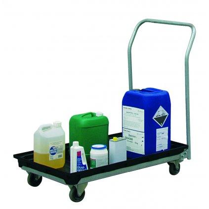 Vozík na chemikálie (záchytná vana 30l)