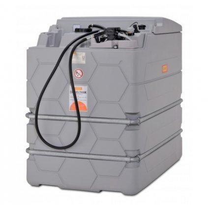 CEMO nádrž na naftu 1500 l nádrž - CUBE - na maziva BASIC INDOOR (vnitřní)