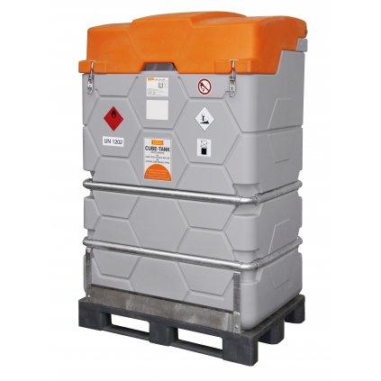 CEMO nádrž na naftu 1000 litrů nádrž - CUBE-Tank Mobil s ADR