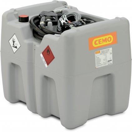 210 litrů mobilní nádrž elektrické čerpadlo na 12V, 40 l/min (ADR)