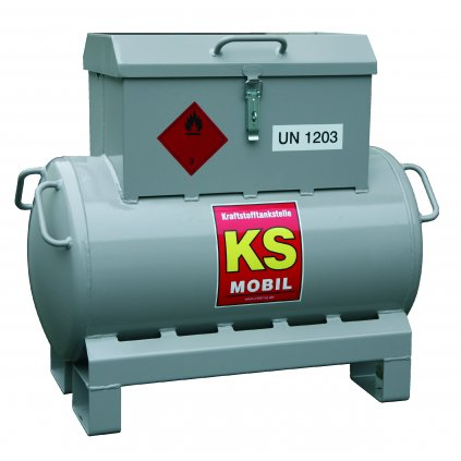 KS-Mobil nádrž na benzin, 90 litrů s ručním čerpadlem