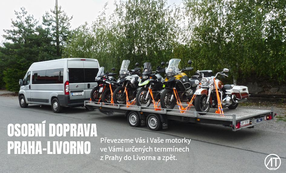 Doprava Praha - Livorno