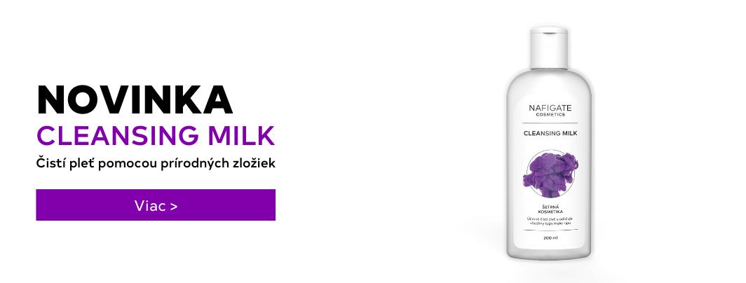 Cleansing Milk novinka