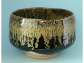 Chawan gold-black